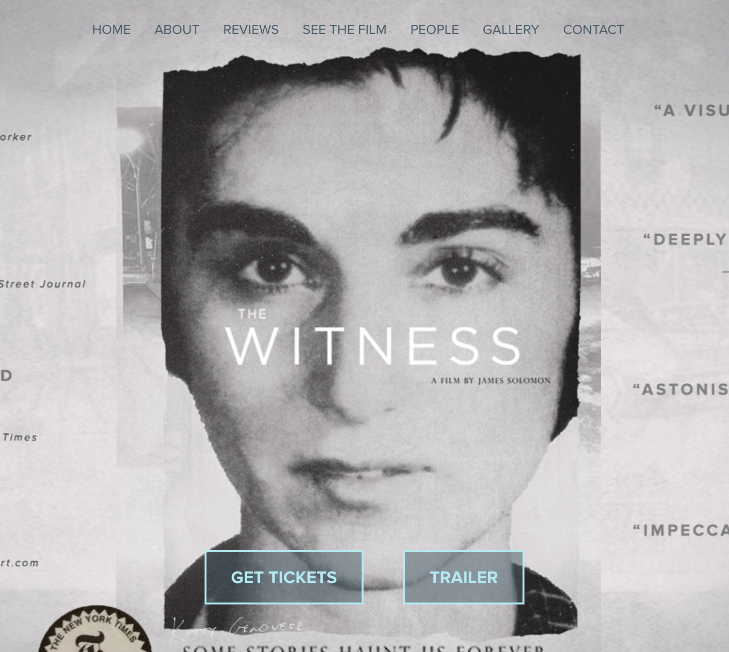 The Witness  A Documentary About Kitty Genovese